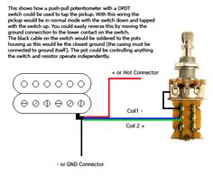 A D B Bdb B B F F E A A F Taps Pull on Gibson Double Neck Guitar Wiring Diagram