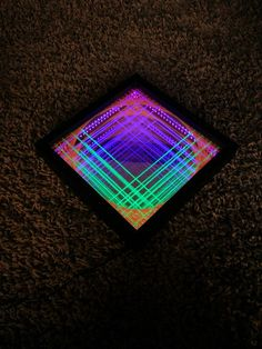 The Gate - Infinity Mirror UV String Art Check out the full project http://ift.tt/1TTWl5H Don't Forget to Like Comment and Share! - http://ift.tt/1HQJd81