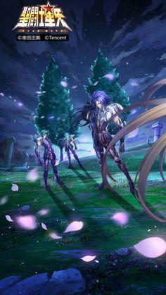 Cavaleiros Renegados Espectros Shura Saga Camus