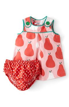 Mini Boden Retro Print Dress (Baby Girls) available at #Nordstrom