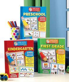 Brain Games 1001 Activites for Kids