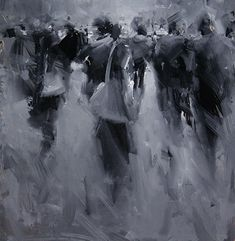 Tibor Nagy - Ghost Town- Oil - Painting entry - November 2013 | BoldBrush Painting Competition