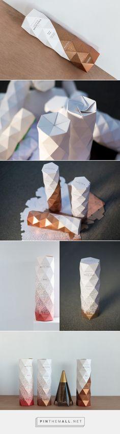 Castillo De Molina wine Origami Packaging by Non » Retail Design Blog - created via https://pinthemall.net