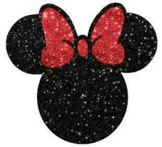 Items similar to Minnie Mouse Glitter Vinyl Heat Transfer Iron-on Applique for DIY Hot Fix Apparel or Tote Bags on Etsy Glitter Heat Transfer Vinyl, Glitter Vinyl, Button Art, Button Crafts, Birthday Party Locations, Mickey Mouse Images, Mouse Paint, Crafts To Make, Diy Crafts