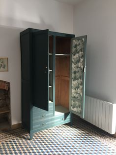 Armoire parisienne, Lockers, Locker Storage, Bedroom Decor, Cabinet, Diy, Inspiration, Furniture, Ideas, Home Decor