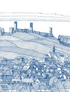 Jan Poczobut behance.net/gallery/23022309/Polskie-Regiony