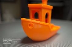 """""""The #3Dbenchy model with the P-minifab. @3DBenchy @thingiverse @fablabsevilla #3Dprinting #3d #model #calibration #fablab #maker"""""""
