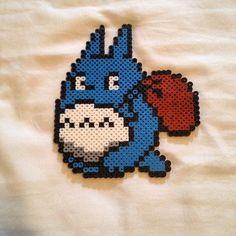 Totoro perler beads by funky_cold_m3dina