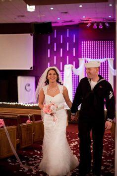 Military wedding! Dress blues