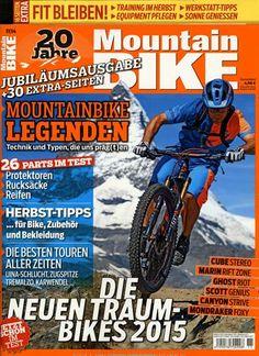 Die neuen Traum-Bikes 2015. Gefunden in: Mountain BIKE, Nr. 11/2014