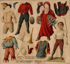 Victorian paper doll_Willimantic Thread   http://www.pinterest.com/pin/177118197816317037/
