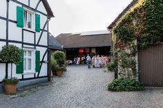 Hochzeitsgesellschaft auf dem Sieferhof in Burscheid