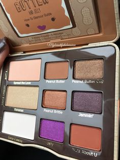 TooFaced // Peanut Butter & Jelly Palette