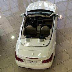 A gorgeous Mercedes-Benz E350 Cabriolet in our showroom!