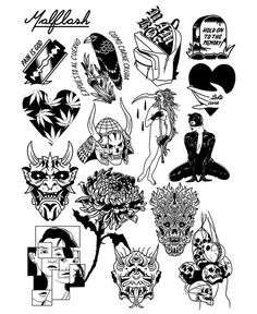 tattoo set Black Ink Tattoos, Mini Tattoos, Cute Tattoos, Body Art Tattoos, Small Tattoos, Tattoos For Guys, Sleeve Tattoos, Tatoos, Sketch Tattoo Design