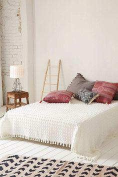 Schlafzimmer Ideen Hell Gemütlich Dekokissen