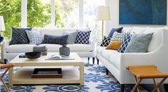 Shop by room: Living Room - Designer Rooms | Serena & Lily