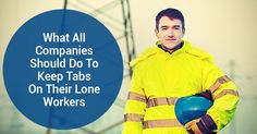 Any company that employs lone workers has a duty to protect them. Lone Worker, Lonely