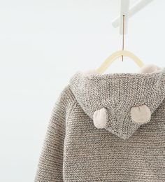 Image 4 of Hooded jacket with ears from Zara