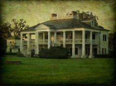 Evergreen Plantation House by William Guion