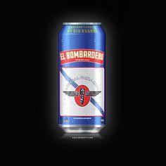 Portfolio | PauloPedott Design :: Design + Marketing Beer can