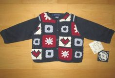 * * * AK Authentic Kids Strickjacke rot/weiß/blau, 6 Mon.* * * | eBay Christmas Sweaters, Kids, Ebay, Fashion, Red White Blue, Jackets, Breien, Young Children, Moda