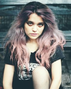 kind like this but greyer and I have naturally goldy brown hair??