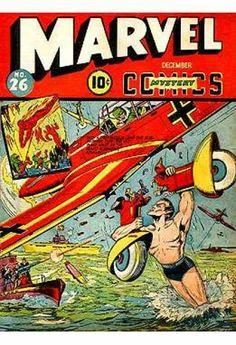 Marvel Mystery Comics 26 golden age Timely Marvel comics