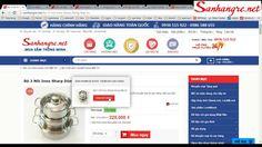 Hướng dẫn đặt mua 1 sản phẩm trên website SanHangRe.net