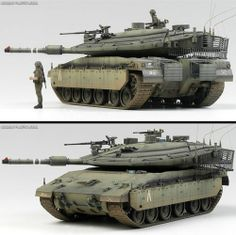 New  Academy  Plastic Model Kit 1/35 MERKAVA Mk IV LIC (#13227)Israel Defense Fo