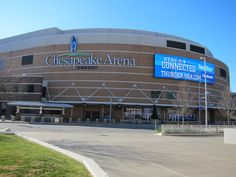 Chesapeake Energy Arena - Oklahoma City, OK Nba Arenas, Chesapeake Energy Arena, Oklahoma City, Temples, Sky, Candy, Heaven, Heavens, Sweets
