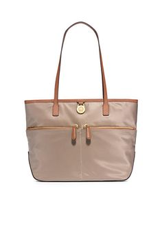 MICHAEL Michael Kors Kempton Medium Pocket Tote. I like this bag in Cherry or in Dusk as shown in the picture. It would be great on a rainy day!
