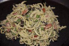 Raw Pasta Carbonara - KrisCarr.com
