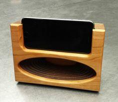 Acoustic Speaker Passive Amplifier Docking by UniqueWoodWorker