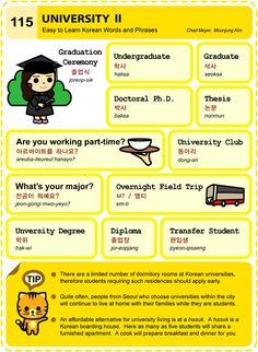 115 Learn Korean Hangul University 2