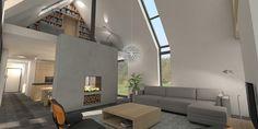 Afbeeldingsresultaat voor modern bakstenen huis