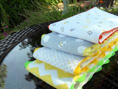 Just Another Hang Up :: My Baby Burp Cloths & Tutorial