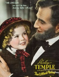 *SHIRLEY TEMPLE ~ The Littlest Rebel, 1935.