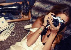 Rosie Huntington-Whiteley by Kimi Hammerstroem via studded hearts