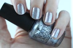 OPI Fifty Shades Of Grey - Shine For Me Swatch via @FabFatale