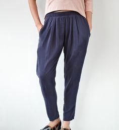 Black Crane Marron Pants