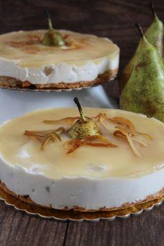 Cheesecake salata ricotta e pera di Antonietta