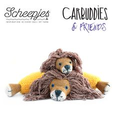 Carbuddies, cuddly cushions, knuffelkussens, friends