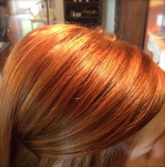 Beautiful hues of strawberry blonde, copper and vibrant reds!