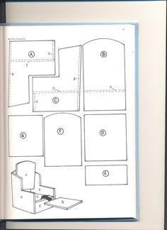 miniature furniture patterns. good starting point for an easy chair miniature furniture patterns i