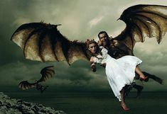 """The Wizard of Oz, as imagined by Annie Leibovitz. """" I'll Get You My Pretty"""" #8"""