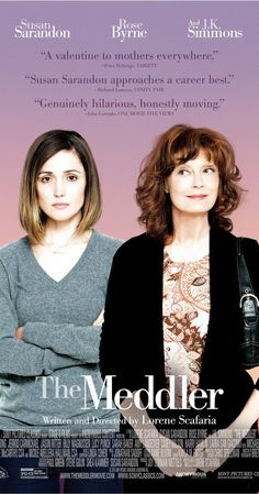 Directed by Lorene Scafaria.  With Rose Byrne, Megalyn Echikunwoke, J.K. Simmons, Susan Sarandon. An aging widow from New York City follows her daughter to Los Angeles in hopes of starting a new life after her husband passes away.