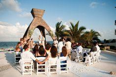 Photography: Emily Snitzer Photography - emilysnitzer.com  Read More: http://www.stylemepretty.com/destination-weddings/mexico-weddings/2012/06/22/dreams-riviera-cancun-resort-spa-wedding-by-emily-snitzer-photography/