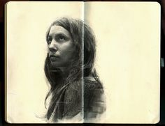 Artist Draws Beautiful Emotive Portraits Of His Friends With Graphite - DesignTAXI.com