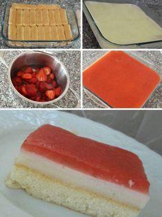 Çilekli Kedidilli Pasta Yaz Pastası Malzemeler Alt tabanı için: 1 paket kedidili bisküvisi 1 çay bardağı süt Ara katı için 1 paket vanilyalı hazır toz ... - f. özbağ - Google+